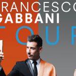 A luglio Francesco Gabbani live a Lignano Sabbiadoro con il suo tour