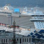 La Majestic Princess entra nel porto di Trieste: lo strano suono della sirena. Video e foto