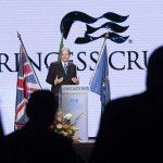 Il premier Gentiloni alla consegna della Majestic Princess: l'Italia fa sistema