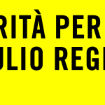 Giulio Regeni, tenere alta la richiesta di verità: videomessaggio dei genitori