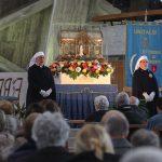 Sono giunte a Trieste le reliquie della Santa Bernadette di Lourdes. Galleria di foto