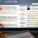 Nasce Zipster, il primo aggregatore di notizie con redazione giornalistica