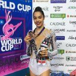 La ginnasta Alexandra Agiurgiuculese bronzo alla World Cup: video