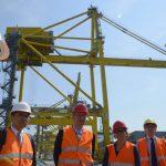 Delegazione cinese presso il porto di Trieste in vista di accordi commerciali sulla nuova Via della Seta
