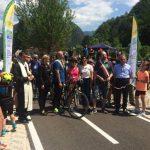 Inaugurato il tratto Resiutta-Moggio Udinese della ciclovia Alpe Adria Radweg