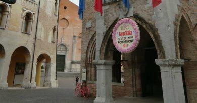 Creazioni floreali per le tappe di Piancavallo e di Pordenone del Giro d'Italia