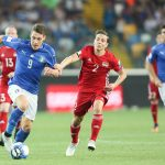 Alla Dacia Arena l'Italia di Ventura fa 5 gol al Liechtenstein. Le foto della partita