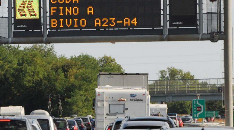 Traffico in aumento per il fine settimana sulle autostrade del FVG
