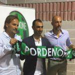 Il Pordenone Calcio presenta il nuovo CT, tifosi entusiasti. Videointervista al presidente