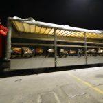 5 tonnellate di sigarette di contrabbando scoperte in un TIR di centrifughe per insalata