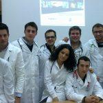 Flash mob degli studenti di medicina di Trieste per un'informazione scientifica sui vaccini