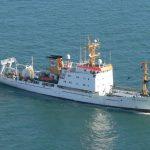 La nave OGS Explora dell'Istituto Nazionale di Oceanografia di Trieste indaga sui maremoti