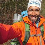 Si conclude l'impresa dell'azzanese Lorenzo Franco Santin: ha percorso tutto il Sentiero Italia