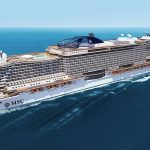 "Fincantieri e MSC Crociere: messa in acqua la gigantesca ""MSC Seaview"", 323 metri"