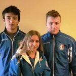 Pesisti pordenonesi in gran spolvero agli Europei giovanili