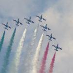 Le Frecce tricolori protagoniste del passaggio in FVG del 103° Giro d'Italia