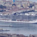 """La """"Seaside"""" gigante Fincantieri consegnata a MSC. Festa a Trieste: le foto"""