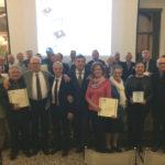 Premiati i Maestri del Commercio Ascom Pordenone a palazzo Montereale