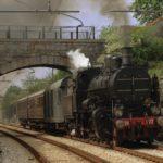 Viaggio inaugurale della Sacile-Gemona con una locomotiva a vapore austroungarica