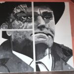 """Un murales di Nereo Rocco allo Stadio di Trieste per l'operazione """"Chromopolis"""""""