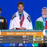 Mondiali di Pesistica, il friulano Zanni conquista una storica medaglia di bronzo