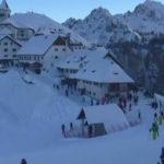 Abbondanti nevicate in Friuli Venezia Giulia, soddisfatti gli operatori turistici