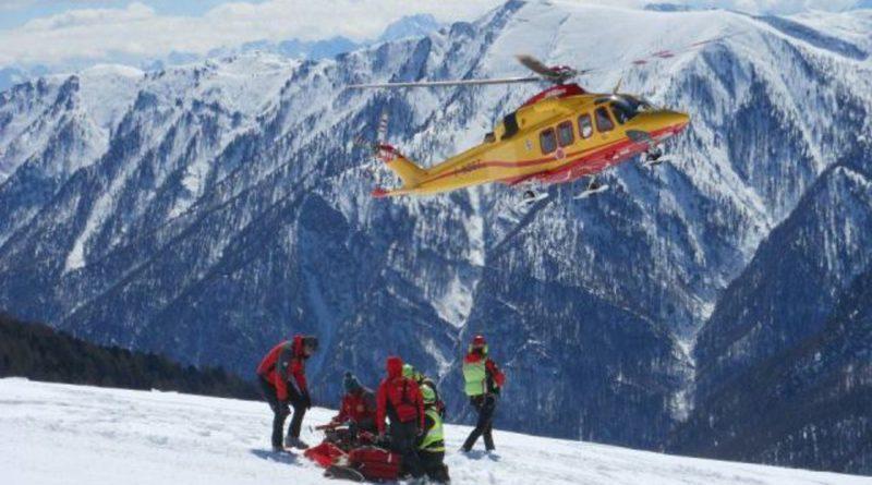 Cinque incidenti in montagna hanno impegnato il Soccorso Alpino regionale