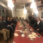 Amici di una vita, cena di Natale all'osteria di Prodolone