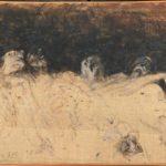 """""""Zoran Music. Occhi vetrificati"""": al Revoltella 24 disegni inediti che l'artista realizzò a Dachau"""