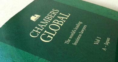 Riconoscimento internazionale Chambers Global per uno studio legale di Trieste