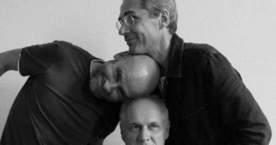 """Il trio Fantini, Moretti, Scruzzi a Zoppola nell'esilarante talk show """"Çurviei scjampâts"""""""