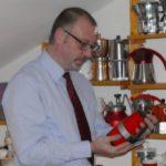 Al Cenacolo del caffè con il collezionista Luciano Del Piccolo