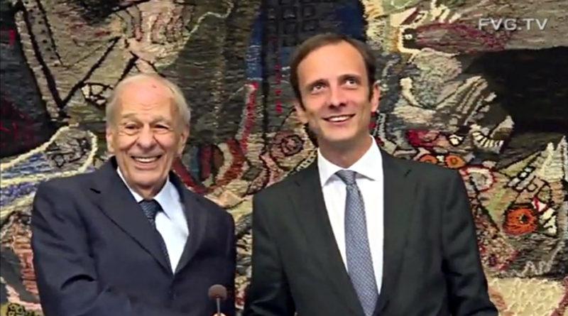 Insediato il Consiglio regionale della XII legislatura. Ettore Romoli eletto presidente
