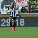 L'Udinese batte il Bologna 1 a 0 e conquista l'agognata salvezza