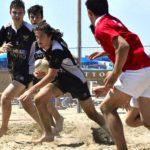 Grandissimo successo per il Junior Beach Rugby a Lignano Sabbiadoro