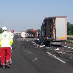 Tre incidenti in autostrada: chiusa a due riprese la A4 tra Villesse e Palmanova