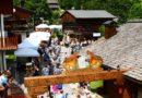 Festa del prosciutto a Sauris nei week end di luglio con il tipico mercatino