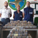 50 chili di eroina scoperti e sequestrati dalla Guardia di Finanza in un camion nel porto di Trieste