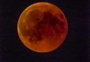 Luna rossa dal Carso: ecco le foto della spettacolare eclissi