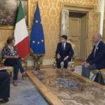 """Il premier Giuseppe Conte ha incontrato i genitori di Giulio Regeni: """"il governo è al vostro fianco"""""""