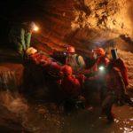 Speleologo triestino ferito in grotta a 200 metri di profondità: salvato
