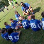 Bambini alle prese con la palla ovale sabato 22 settembre ad Azzano Decimo