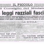 Leggi razziali, 80 anni dalla proclamazione a Trieste. Una pagina buia della nostra storia