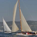 Barcolana 50: gli scafi d'epoca si sfidano nel Trofeo Classic. Le foto