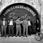 Nino Migliori con i suoi storici scatti dell'Italia neoralista al Bastione Fiorito del Castello di San Giusto