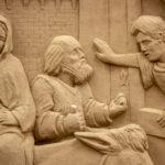 Il Cantico dei Cantici il tema di quest'anno per il grande presepe di sabbia di Lignano Sabbiadoro