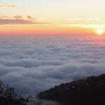 Fine d'anno con nebbia stratificata a Trieste: le straordinarie fotografie