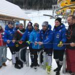 Inaugurata la seggiovia Nuova Tarvisio con la squadra italiana di slalom