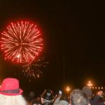 Festa di Capodanno a Trieste con fuochi d'artificio e musica: le foto