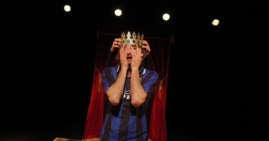 """Amleto take away"" con Gianfranco Berardi  per prosa On Off al Miela"